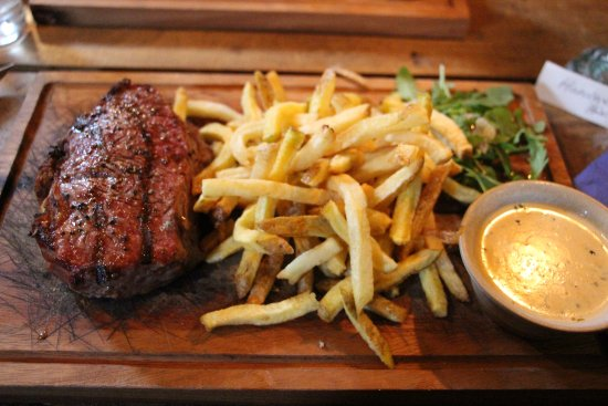 Appin, UK: Steak