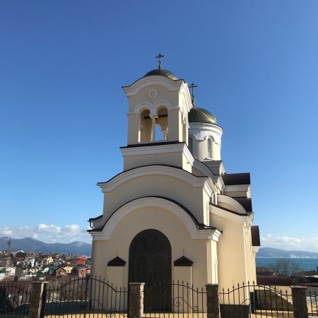 Myskhako, รัสเซีย: Церковь во имя Ильи Пророка