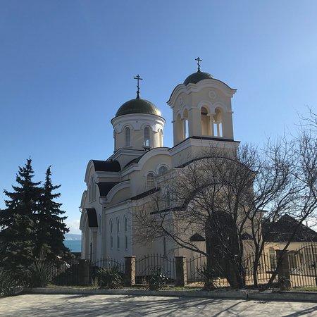Myskhako, روسيا: Церковь во имя Ильи Пророка