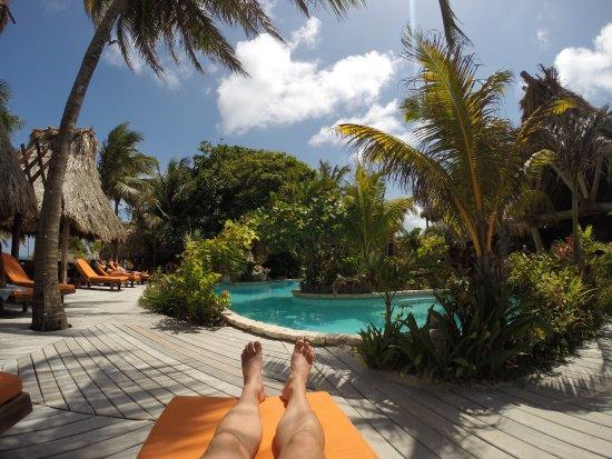 Ramon's Village Resort: Ramon's pool area