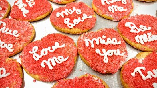 Canastota, Estado de Nueva York: Valentine Cookies