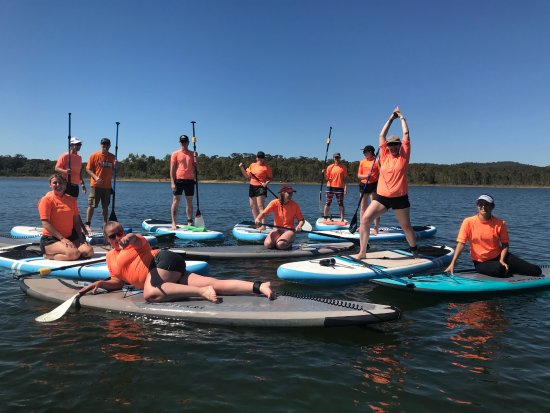 Stillwater Paddleboards: Private Group bookings, fun for family and friends.