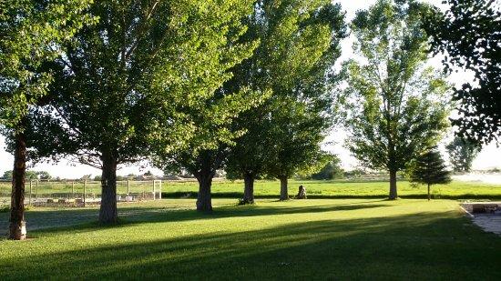 Jensen, UT: the grounds are family friendly.