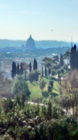 Rome Cavalieri, A Waldorf Astoria Resort: This was the view from our balcony. Floor 8, City View