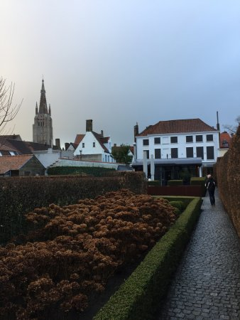 Hotel Montanus: Uitzicht op tuin en hotel