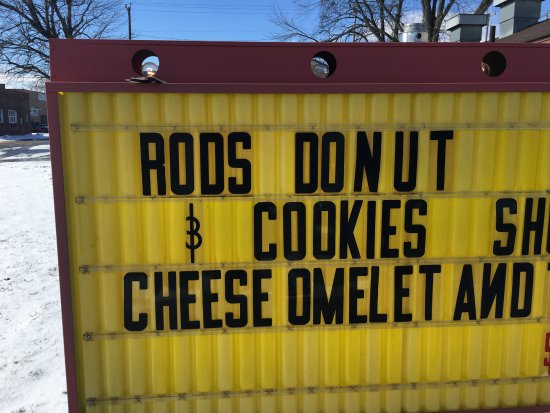 Uhrichsville, OH: Rod's Donut Shop