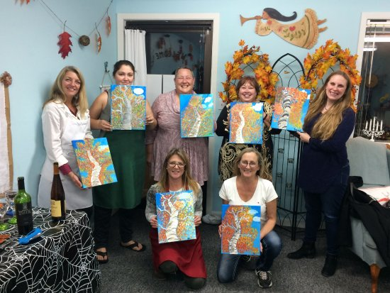 "Bigfork, MT: ""Autumn Birch Tree"" Painting Class"