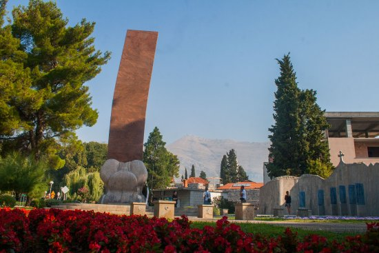 1991 - 1995 War Memorial, Trebinje (built in memory of the defenders of Trebinje)