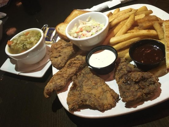 Montana Brewing Company: Steak Fingers with your choice of side! Served after 4pm!