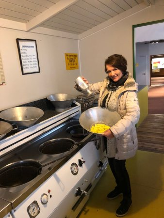Friet Museum: Een demo frietkraam