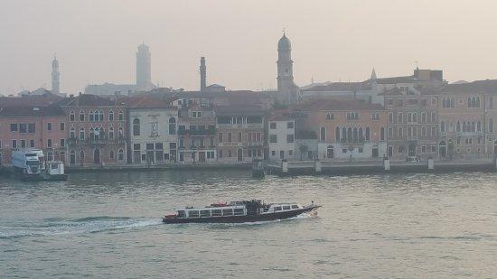 Hilton Molino Stucky Venice Hotel: View from my room