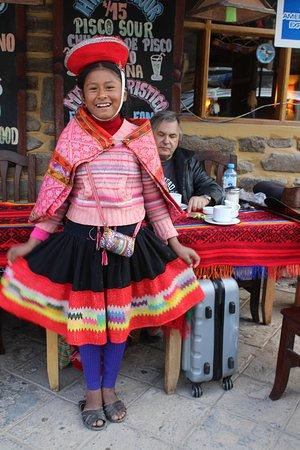 Ollantaytambo, Peru: Diana... nos cautivó!!