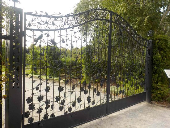 Burnley Gardens Field Nursery Gates
