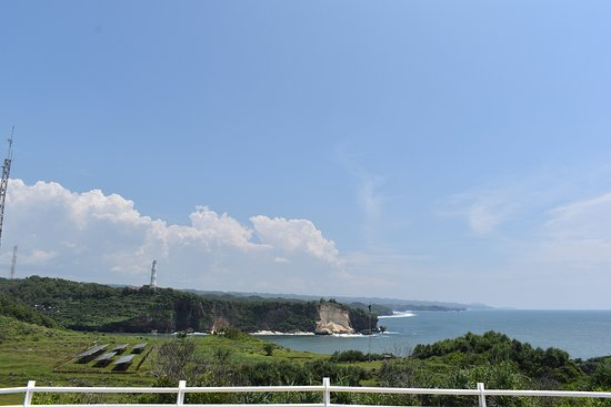 Gunung Kidul, Indonesia: Sightseeing from the hill