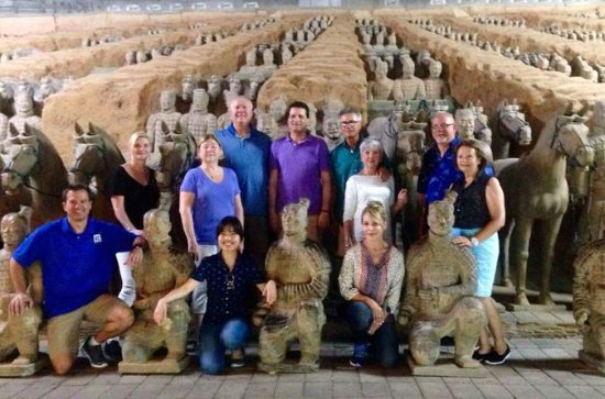 Xian Private Day Tour to Terracotta Warriors with Hot Springs Spa...