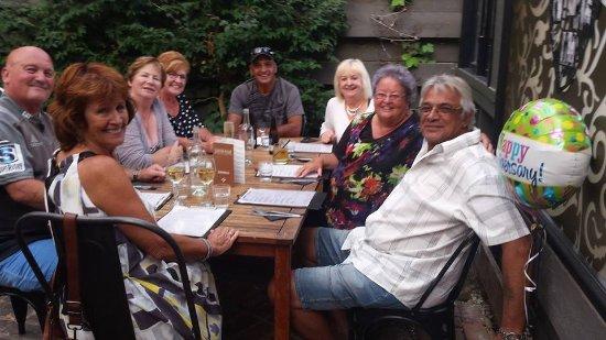Amberley, Nueva Zelanda: Celebrating our 47th Wedding Anniversary