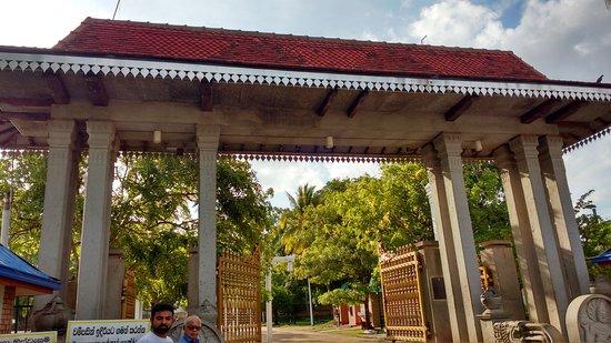 Jaya Sri Maha Bodhi: The entrance to Jaya Sri Mah Bodhi Temple