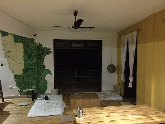 Vagator, India: Common room