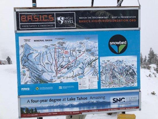 Gate To Snowbird Picture Of Alta Ski Resort Alta Tripadvisor