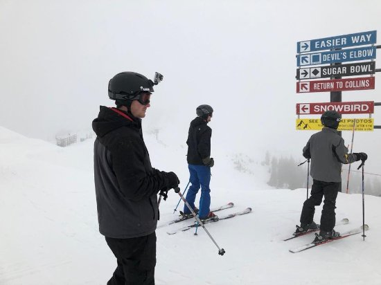 Alta Ski Resort: Top of Sugarloaf