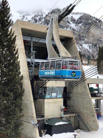 Alta Ski Resort: Aerial Tram