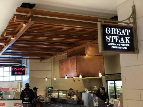 City Creek Center Food Court Utah