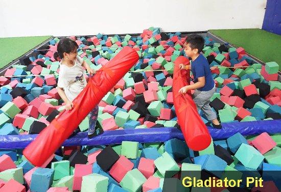 Gladiator Pit Picture Of Amped Trampoline Park Jakarta