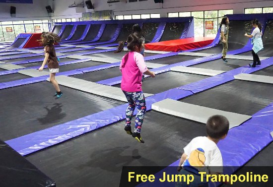 Free Jump Trampoline Picture Of Amped Trampoline Park