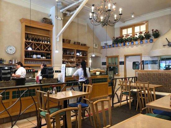 Copenhagen Bakery & Cafe: Inside