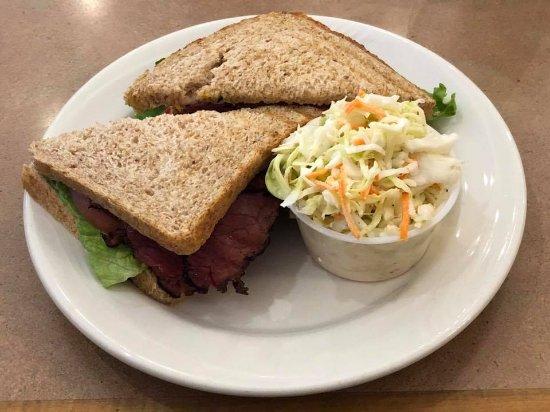 Copenhagen Bakery & Cafe: Hot Pastrami Sandwich