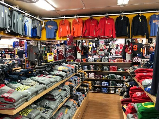 new style ad6bf 45398 Inside - Picture of NFL Shop Pier 39, San Francisco ...