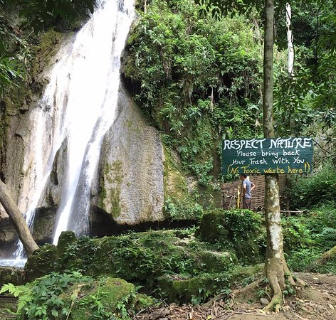 Than Mok Waterfall
