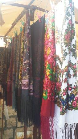 Bandar-e Torkeman, Iran: Turkman scarves