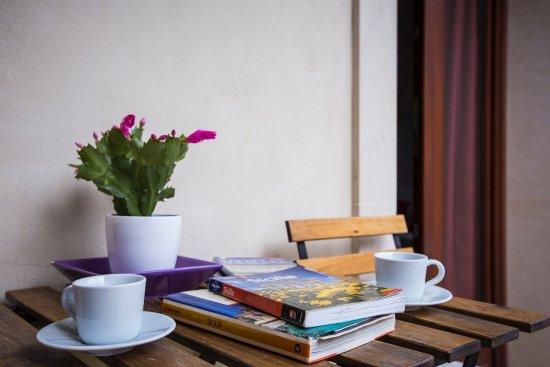 Kyanos Residence: zona relax su balcone