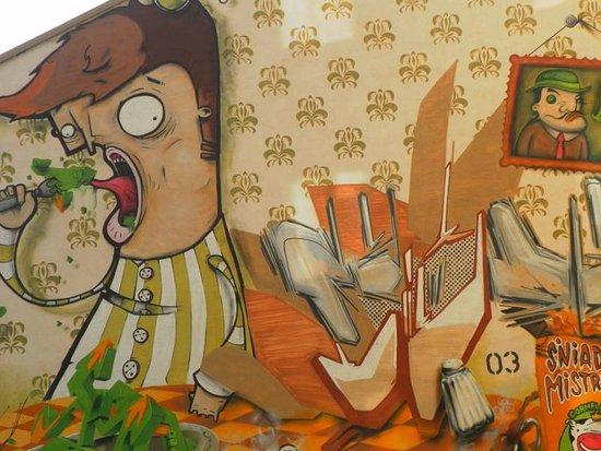 Sniadanie Mistrzow Mural