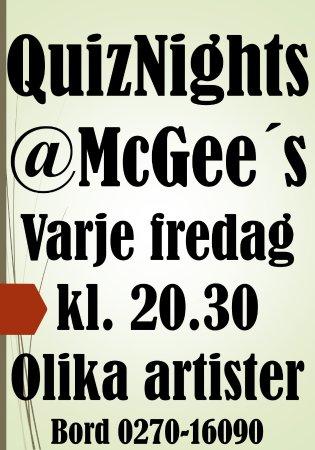 Söderhamn, Σουηδία: QuizNight =)