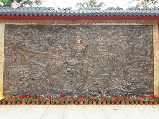 how to get to nanshan temple