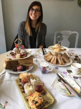 Delicious themed afternoon tea!