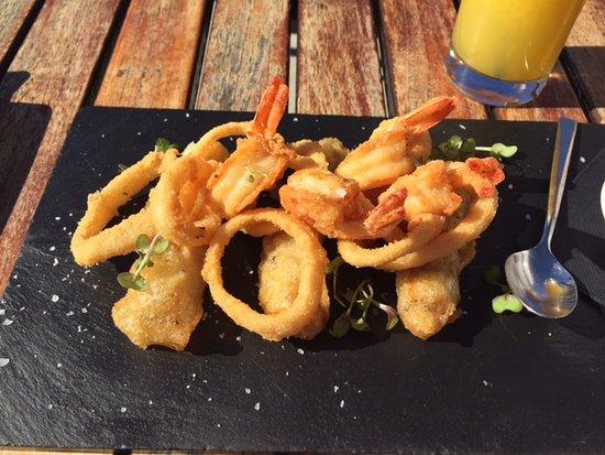 El Mirador: Seafood tapas - delicious