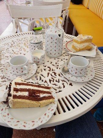 Cafe Wien: Auswahl an Kuchen