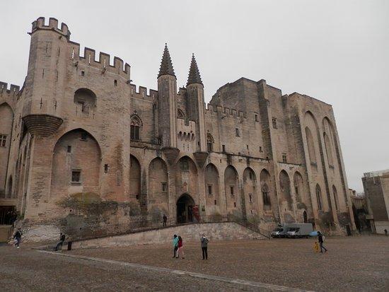 Avignone, Francia: Entrée du Palais des Papes