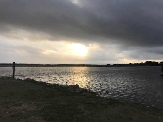 Jean Lafitte Harbor : The view from the cabins!