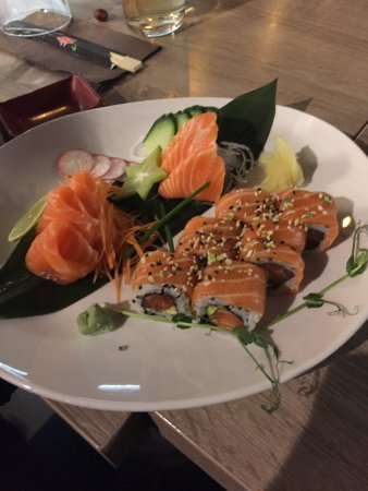 Naka : petit exemple de plat a base de saumon