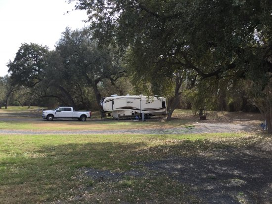 Crystal City, TX: Our campsite