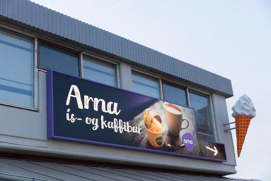Arna ís- og kaffibar on Seltjarnarnes