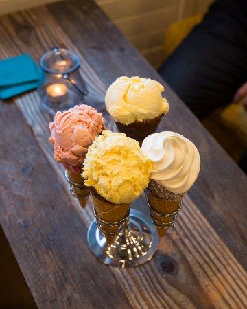 Seltjarnarnes, Iceland: Arna Ice cream