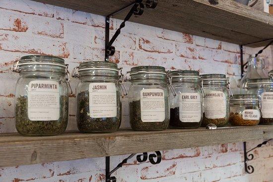 Seltjarnarnes, Iceland: All kinds of tea for tealovers
