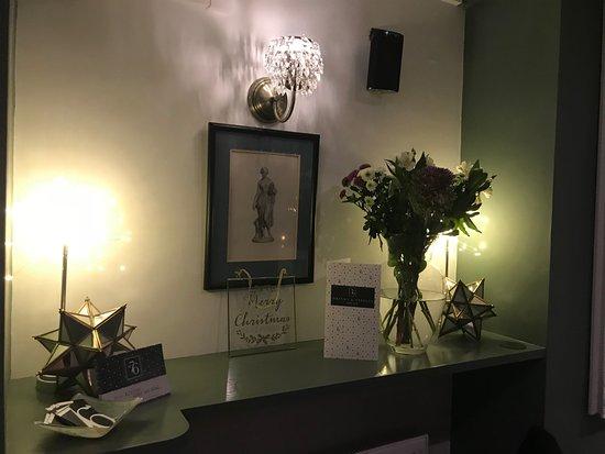 Christmas display at No.76 Desborough