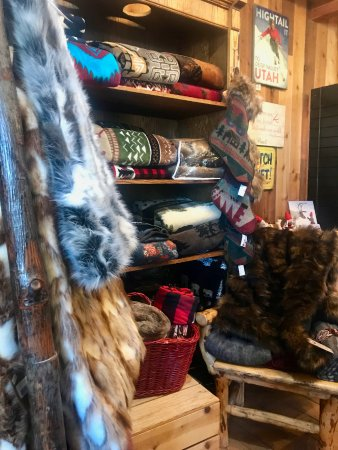 Heber City, UT: Inside shop