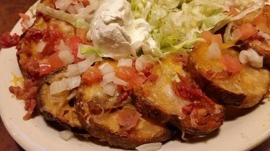 Wooster, OH: Potato skins (minus seasoning)